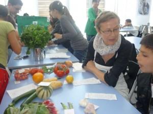 Approche sensorielle des fruits et légumes