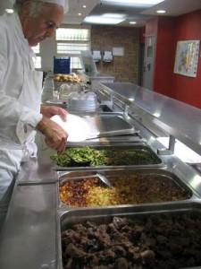 Dominique Valladier, chef de cuisine du Lycée Lempéri à Salon de Provence